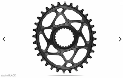 OVAL DIRECTMOUNT CHAINRING FOR XTR M9100 , XT & SLX 12SPD HYPERGLIDE+ CHAIN