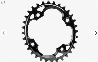 OVAL 94 BCD TRACTION CHAINRING FOR SRAM