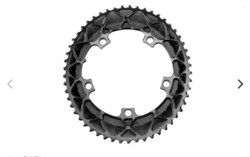 PREMIUM OVAL ROAD 2X 130/5 BCD CHAINRINGS