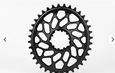 CX 1X OVAL DIRECT MOUNT TRACTION CHAINRING FOR SRAM