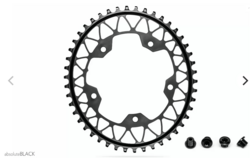 GRAVEL 1X OVAL 110/5 BCD N/W TRACTION CHAINRING