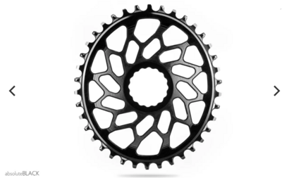 1X OVAL DIRECT MOUNT CHAINRING FOR EASTON EC90SL