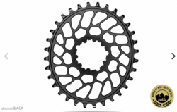 OVAL SUPER BOOST TRACTION CHAINRING FOR SRAM CRANKS 0MM OFFSET