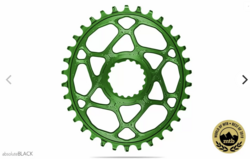 OVAL DIRECT MOUNT 1X CHAINRING FOR CANNONDALE CRANKSET
