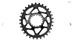 ABSOLUTEBLACK OVAL GUIDERING CHAINRING FOR E*THIRTEEN