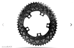 PREMIUM OVAL ROAD 110/5 BCD CHAINRING