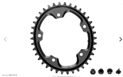 CX 1X OVAL 110/5 BCD N/W TRACTION CHAINRING