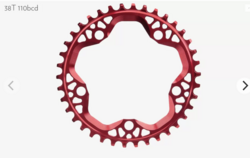 ABSOLUTEBLACK CX ROUND 110/130 BCD CHAINRINGS